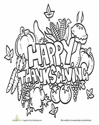 255 best images about Fall Coloring Pages on Pinterest