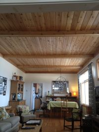 17 Best ideas about Wood Plank Ceiling on Pinterest ...