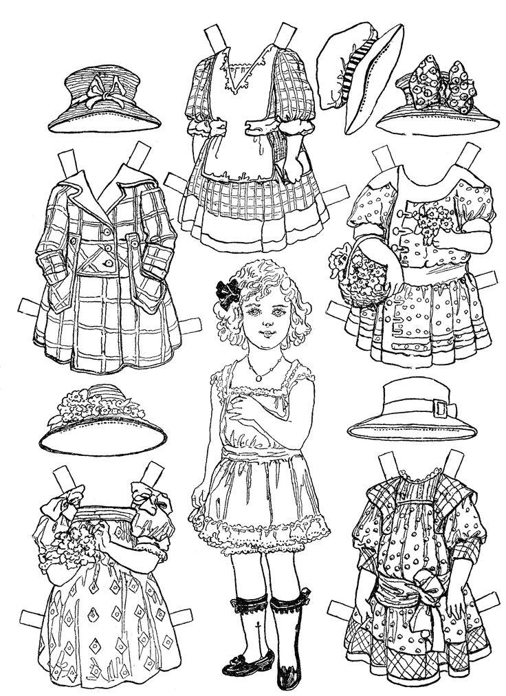 17 Best ideas about Victorian Paper Dolls on Pinterest