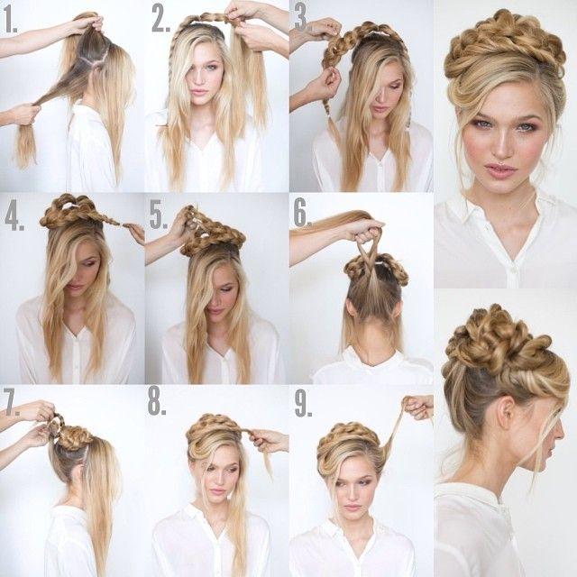 Die 51 Besten Bilder Zu Dirndl Hair Auf Pinterest