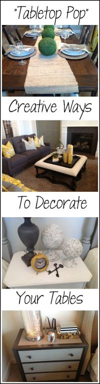 136 best images about Top it off Decor on Pinterest | How ...