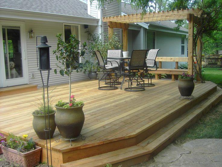25 Best Ideas About Backyard Deck Designs On Pinterest Deck