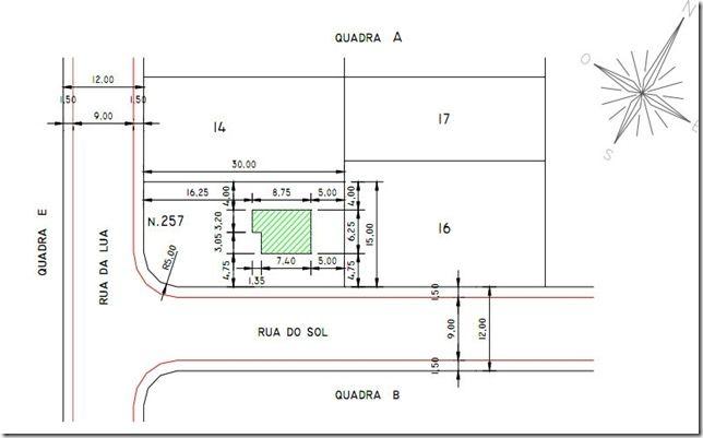 Estudo Preliminar  Planta Situao  arquitetura