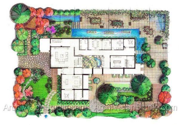 landscape architecture sketches