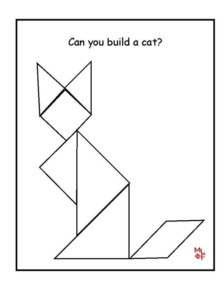 203 best images about tangram on Pinterest