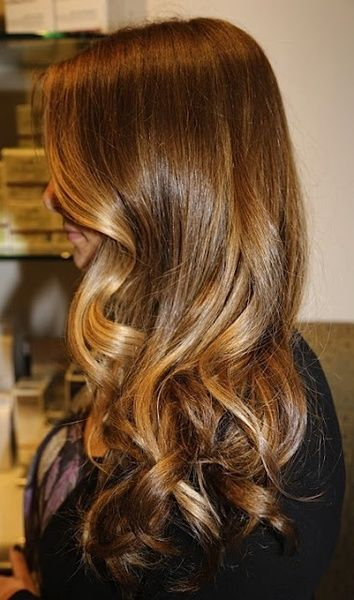 Beautiful hair idea – highlights on brunette – Beaufort light on hair, smooth ha