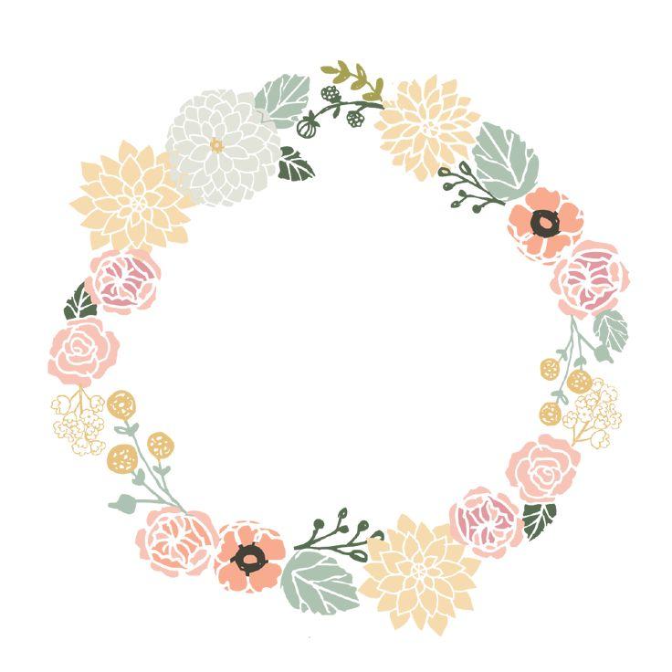 Flower Frame Clipart Google My Ideas