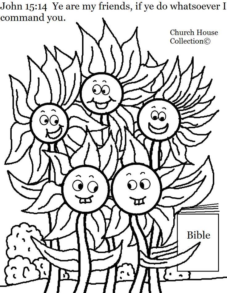 Church House Collection Blog: Flower Family John 15:14