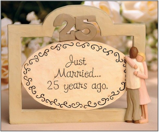 25th Wedding Anniversary Gifts For Him