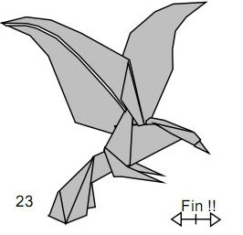 origami eagle instructions diagram all summer in a day plot scribd psychologyarticles info