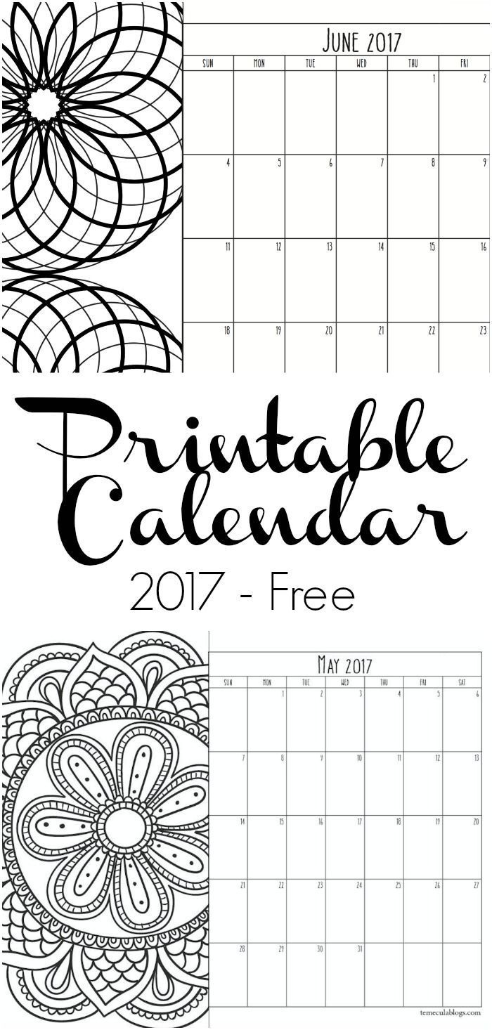 25+ best ideas about Printable Calendar Pages on Pinterest