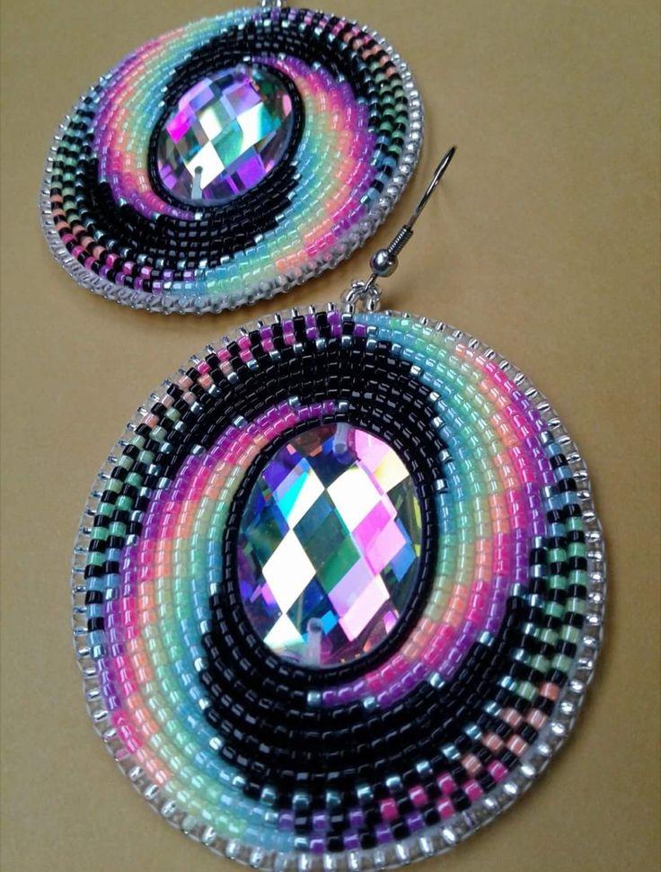 25+ best ideas about Beaded Earrings Native on Pinterest