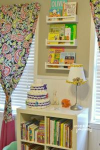 nursery_book_storage- using ikea spice racks! | Fairytale ...