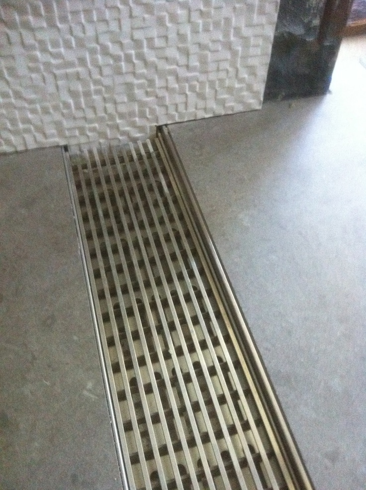 No Curb Shower Drain Makes a custom tile shower zero