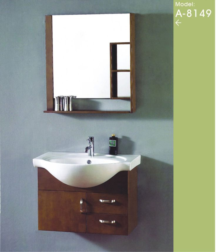 compact bathroom vanity  small bathroom cabinet China