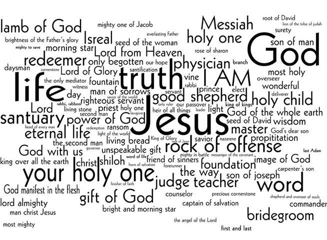 Bible Study Outline on the Names of Jesus « Bible Study