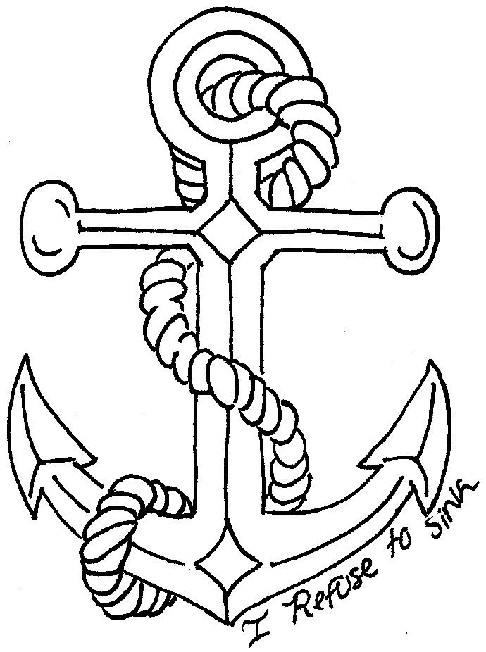 deviantART: More Like I Refuse To Sink Anchor And Ribbon
