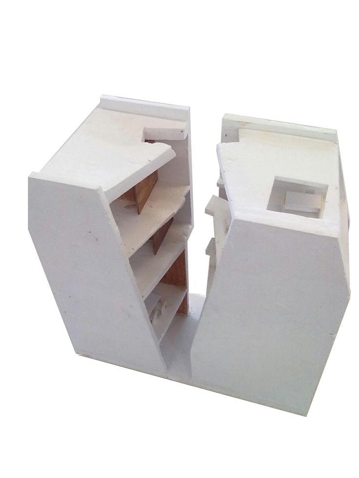 Solid Plaster Model Models Pinterest Models And Plaster