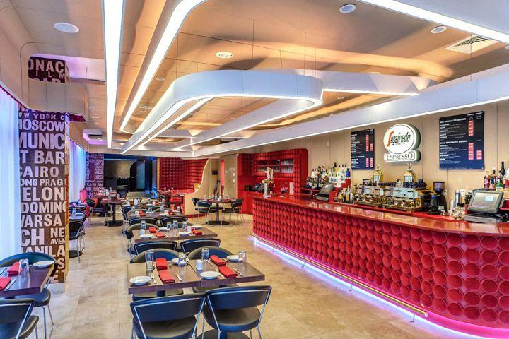 Segafredo Zanetti Café By Bluarch Architecture, New York