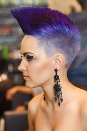mohawk hairstyles extreme haircut
