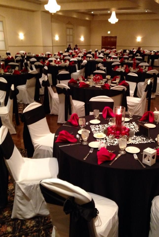 banquet chair covers cheap yeti accessories 1000+ ideas about red table settings on pinterest | elegant settings, and ...