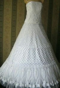 25+ best ideas about Crochet Wedding Dresses on Pinterest