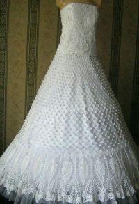 25+ best ideas about Crochet Wedding Dresses on Pinterest
