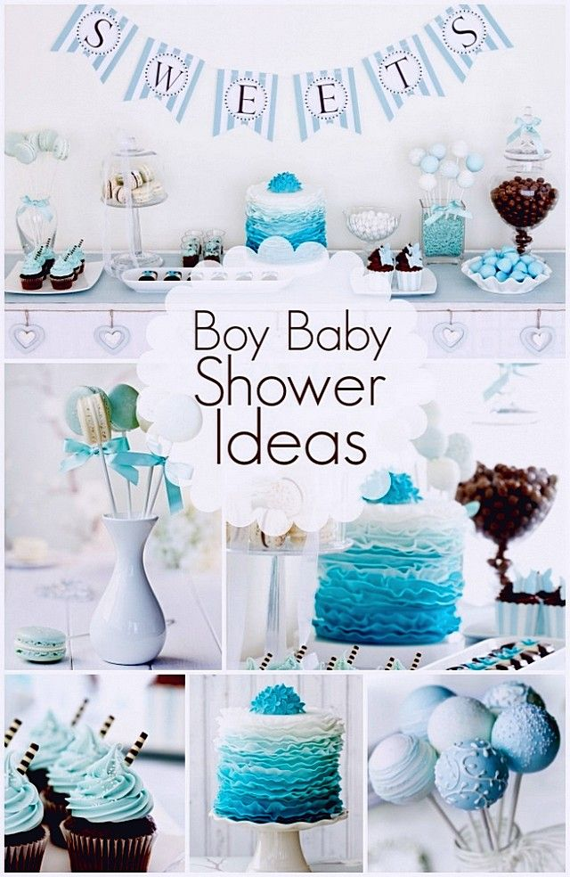 17 Best ideas about Boy Baby Shower Themes on Pinterest