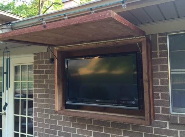 25 best ideas about Outdoor Tv Cabinets on Pinterest
