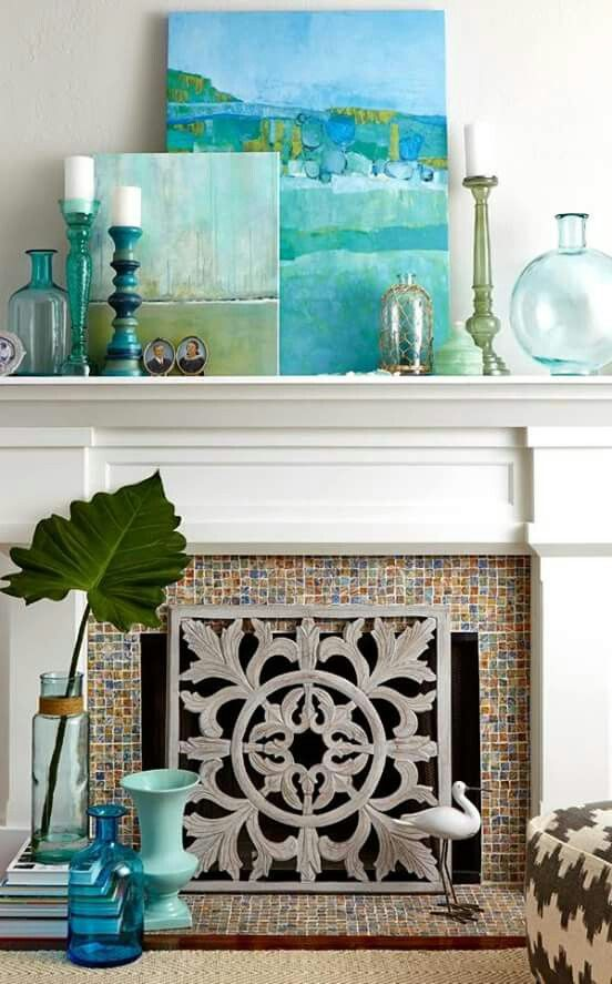 25 Best Ideas about Beach Mantle on Pinterest  Summer mantle decor Beach style fireplaces and
