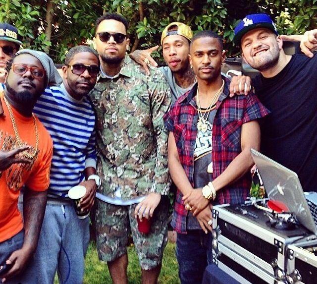 Chris Browns pic Via Big Seans instagram Welcome back
