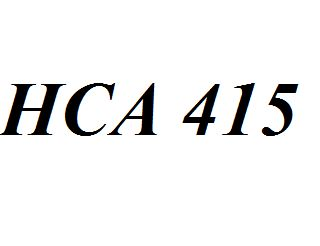 18 best images about HCA 415 on Pinterest