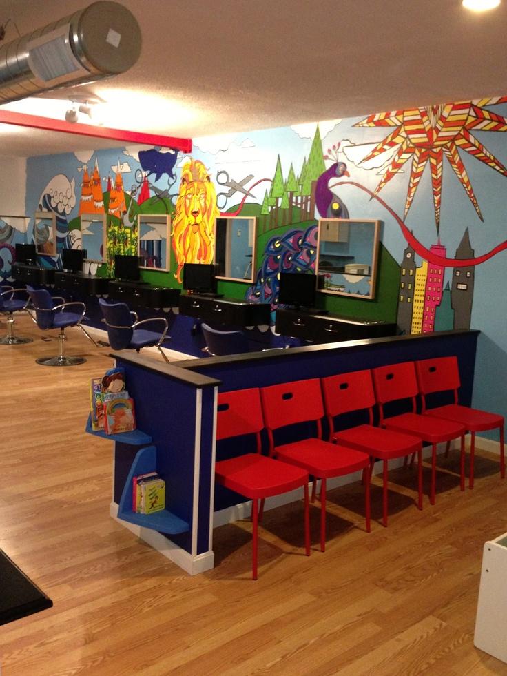 17 Best ideas about Kids Hair Salons on Pinterest  Hair salon nyc Hair studio and Small salon