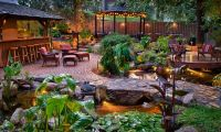 tropical paradise backyard - Google Search | Tiki/Pirate ...