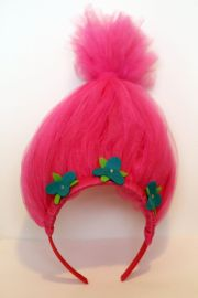 trolls hair headband birthdays