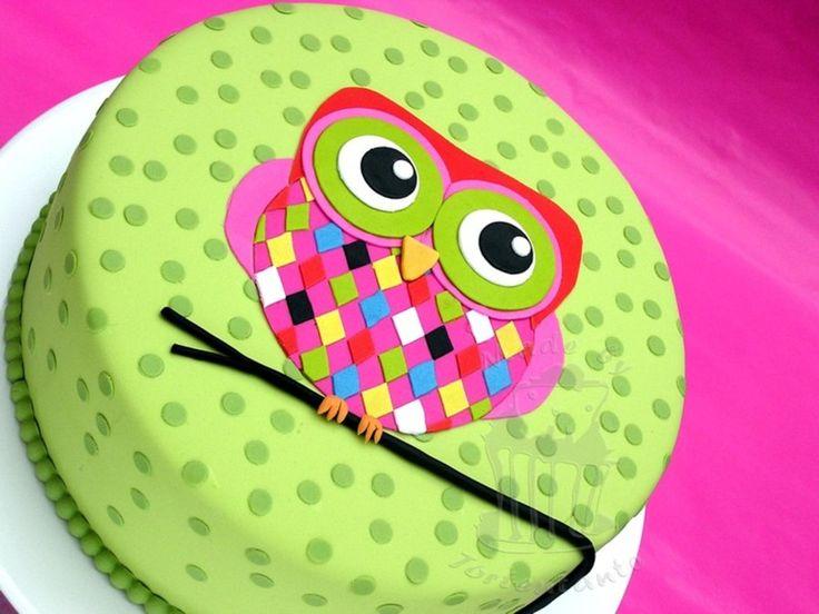 1000 ideas about Owl Cakes on Pinterest Owl birthday