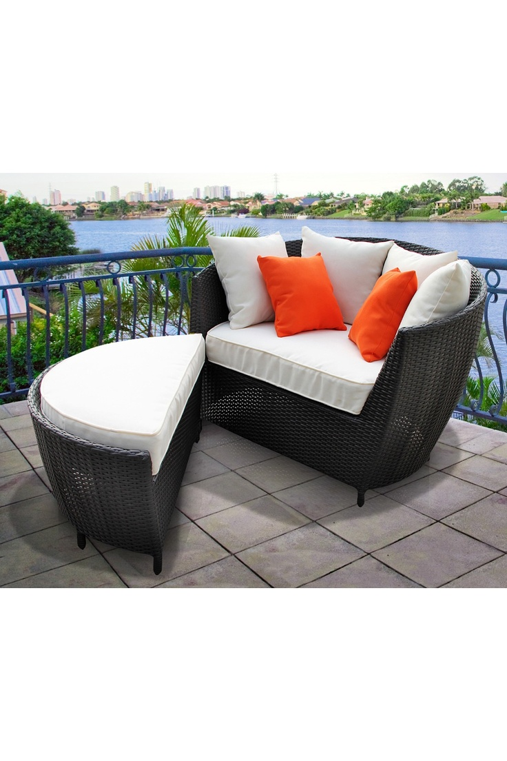 Outdoor Lounge Chair With Ottoman WoodWorking Projects