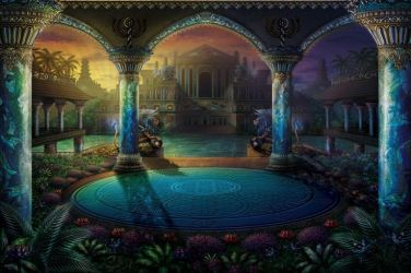 fantasy atlantis deviantart sci fi palace final gardens palaces digital age places realms forgotten another above asteroid depicted awesome google