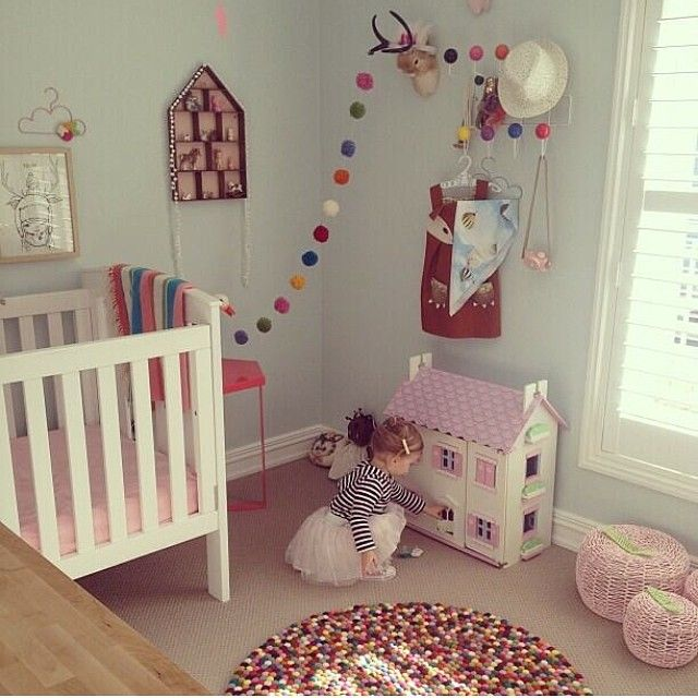 Feels like a life time ago she was in a cot. From Little Dwellings, Interior Designer For Children.