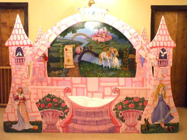 Interior Design The Effect Using Fairytale Bed for Your Kids Pink Castle Of Fairytale Bed