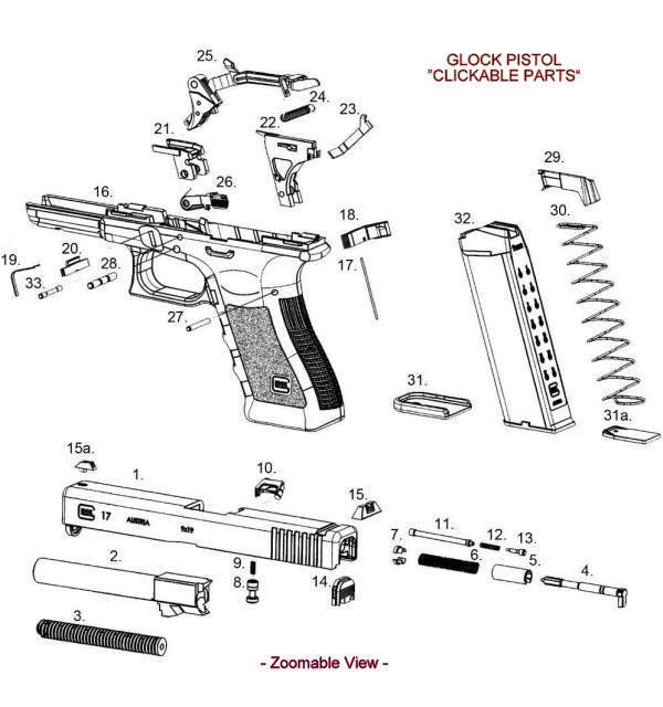 glock gun parts diagram printable wiring diagram schematic harness