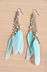 Best 25+ Feather earrings ideas on Pinterest | Native ...