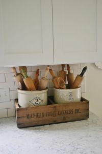 25+ best ideas about Antique kitchen decor on Pinterest ...