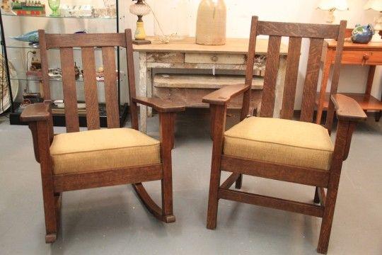 Antique Mission Oak Furniture SOLD  In the Shop NOW