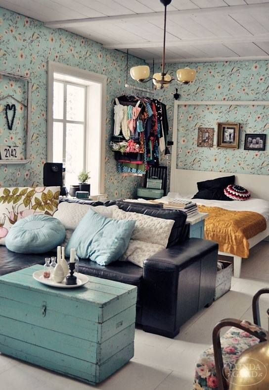 17 Best ideas about Bohemian Studio Apartment on Pinterest