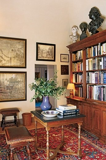 Looking Traditional Mlinaric Henry Patterned Rug Tuscan Living 1000+ Images About Antique Home Office Furniture / Library