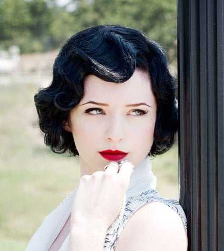 25 Best Ideas About Short Vintage Hairstyles On Pinterest