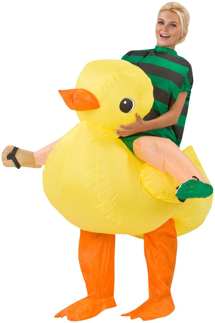 Rubber Ducky Costume For Boys Cas Halloween Costumes