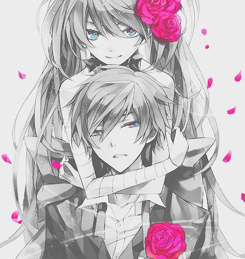 Anime Girl Black And White Anime Couple Anime Anime