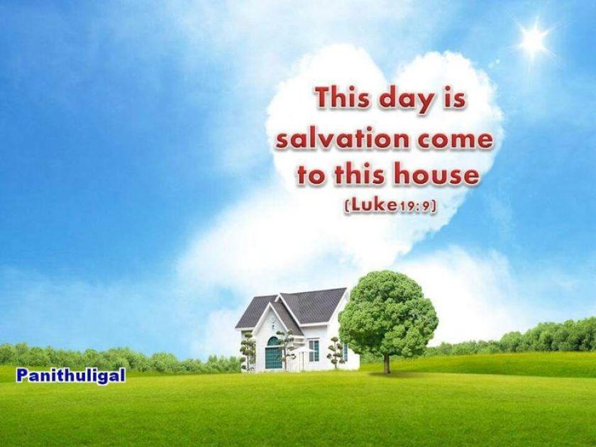 Hasil gambar untuk salvation come to this house